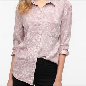 Urban Outfitters By Corpus Pink Tie Dye Shirt E1
